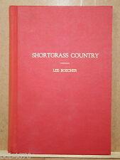RARE Shortgrass Country Lee Boecher PIONEER OKLAHOMA LIFE--> SIGNED 1ST EDITION