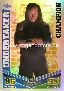 Slam Attax Mayhem #011 Undertaker Champion