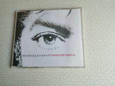 MICHAEL JACKSON – YOU ROCK MY WORLD – CD SINGLE 5 TRACKS EPC 6717652 - NEW!