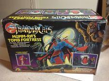 80s Thundercats action figures & Play set: Mumm-Ra's Tomb Fortress (boxed)