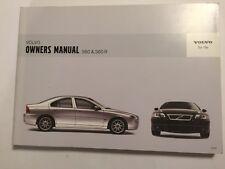 VOLVO S60 S60R OWNERS MANUAL DRIVER HANDBOOK 2006 PETROL DIESEL TURBO T5 MODELS
