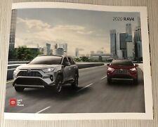 2020 TOYOTA RAV4 36-page Original Sales Brochure