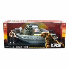 King Kong Skull Island Boat with Action Figure New Toy Ideal Christmas Gift