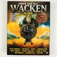 Wacken Louder Than Hell The Movie (BluRay/DVD Combo, Limited Collectors Edition)