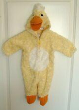 Duck Costume Infant Newborn 0-3 Months One Piece Zipper Baby Old Navy Yellow