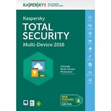 Kaspersky TOTAL SECURITY MULTI-DEVICE 2016 - 3 Device - KL1919TBCFS-6 - ITALIANO