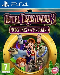 Hotel Transylvania 3 Monsters Overboard PS4 Great Condition Playstation 4 Game