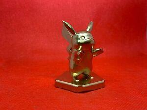 Pokemon Pikachu Statue / Trophy Figure Gold Sword Shield Sun Moon Lets Go