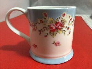 Vintage Cath Kidston China Mug Flower Roses Pretty Tea Coffee Gin