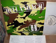 "Hellanbach The Big H LP NM Vinyl ""Lyric Insert"" UK"