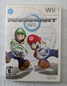 Mario Kart (Wii, 2008) Complete With Game Manual!