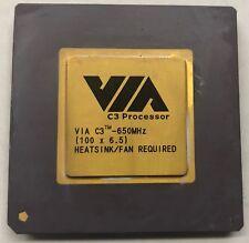 VIA C3-650MHz Desktop CPU Processor