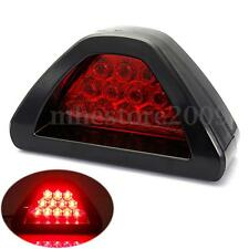 Universal F1 Style 12LED Rear Tail Third Brake Stop Light Strobe Safety Fog