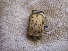 Antique Art Deco Benrus Women's Ladies  Watch 15 Jewels