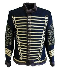 Mens Jimi Hendrix Inspired Hussar Jacket…