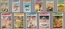 Pohl Zelazny Silverberg Niven Aldiss ASIMOV RIVISTA completa COME NUOVO 1981-82