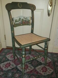 Hitchcock Limited Edition Presidential Series Chair Thomas Jefferson Monticello