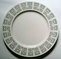Vintage Taylorstone Taylor Smith & Taylor Blue Forum Large Dinner Plate TS&T TST
