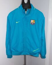 Cyan Nike Soccer FC Barcelona Zip-Up Jacket