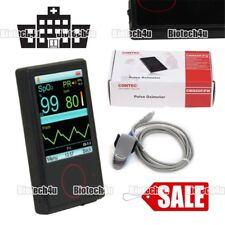 New Digital Finger Pulse Oximeter Portable Heart Rate Monitor 24h SpO2 PI,CONTEC