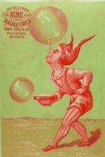 Lot Of 4 Niagara Starch Acme Soap Circus Acrobats Clown Bubbles Balance P85
