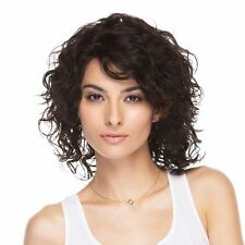 ANABELLE PREMIUM REMY 100% HUMAN HAIR BRAZILIAN NATURAL WIG * 1B *
