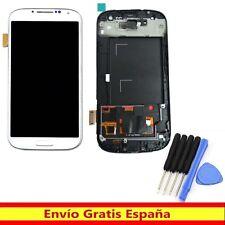 Blanco Pantalla LCD Display Completa Touch Screen Para Samsung Galaxy S3 i9300