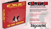 Carter USM The Final Comedown Live Triple disc CD/DVD