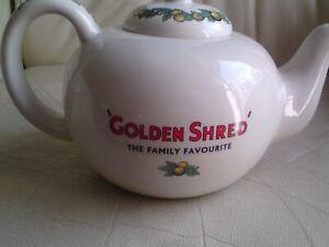RARE Golden Shred Marmalade  Vintage Retro Teapot,ROBERT OPIE,USED.RARE.