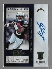 2013 Panini Contenders Playoff Ticket Keenan Allen Auto Rc Serial # to 99