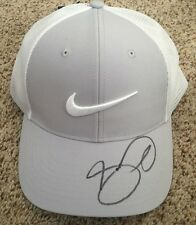 Jason Day Signed Grey Nike Golf Hat New with tags with proof