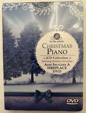 """Christmas Piano"" Collection 2CD + Bonus Fireplace DVD Lifescapes (2012) NEW"