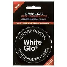 White Glo Activated Charcoal Teeth Whitening Powder 30g