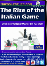 The Rise of the Italian Game - Chess Lecture - Volume 179 Chess DVD