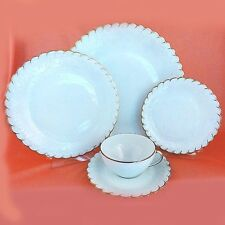 DIADEME Georges Boyer 5 Piece Place Setting NEW NEVER USED Limoges made France