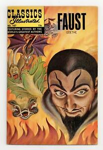 Classics Illustrated 167 Faust #2 FN 6.0 1964