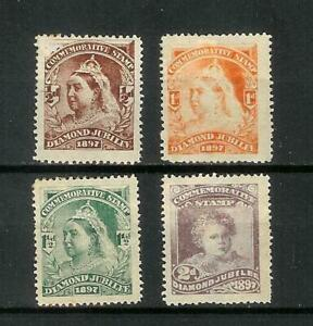 GREAT   BRITAIN   VICTORIA   JUBILEE   TRIAL   STAMPS   MH*