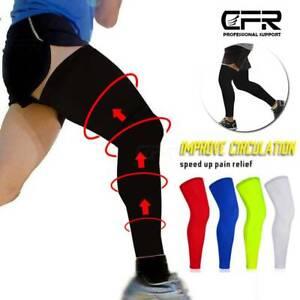CFR Leg Brace Thigh High Compression Sleeve Socks Support Pain Relief Men Women