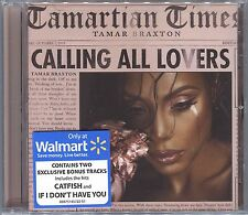 +4 BONUS TRACKS-> TAMAR BRAXTON Calling All Lovers DELUXE CD If I Don't Have You