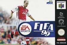 NEW FIFA 99 BOXED AND MANUEL NEW FREEPOST