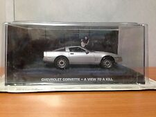 James Bond Die Cast Car - Chevrolet Corvette - A View to a Kill - BNIB