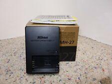 Genuine MH-27 Battery Charger for EN-EL20 Nikon 1 J1 Digital Camera + Battery!