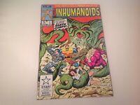 INHUMANOIDS Vol. 1 No.1 ( Star/Marvel 1987) VF, Vintage Comic Books