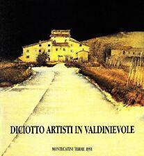 SANTINI Pier Carlo (a cura di), Diciotto artisti in Valdinievole