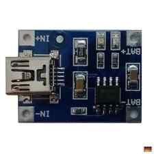 1S Lipo Ladegerät Lademodul Arduino 1A 1000mA Micro USB Lithium Lader TP4056