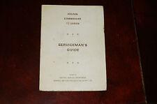 GMH Holden VB Commodore Servicemans Guide. V8 4.2 5.0 litre RARE
