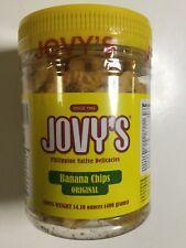 JOVY'S Banana Chips Original Philippines Native Delicacies