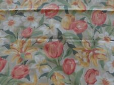 """Laura Ashley Vintage Tulips Fabric 49"""" Wide x 78"""" Long"""