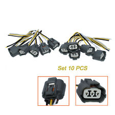 10pcs Speed Sensor Connector Wire Plug Pigtail For Honda Acura Accord Civic New