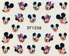 Nail Art Water Transfer Decals Minnie Mouse XF1238